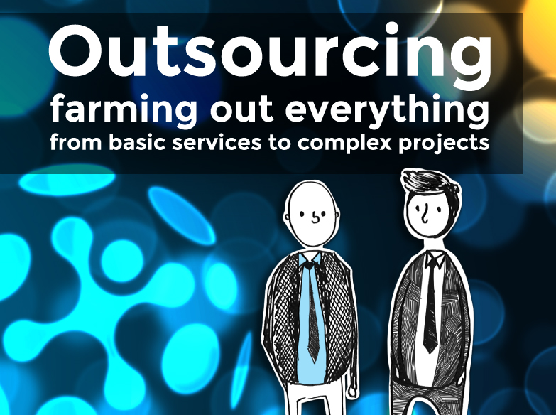 how did the concept of outsourcing begin connectamericas