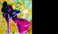 Collage Decoração de Calçados e Bolsas