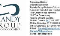 Frandy group división Colombia