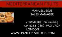 MEDITERRANEAN FRUITS AND VEGETABLES LTD