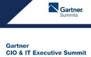 Gartner CIO and IT Executive Summit