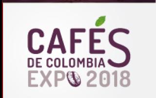 Cafés de Colombia Expo 2018