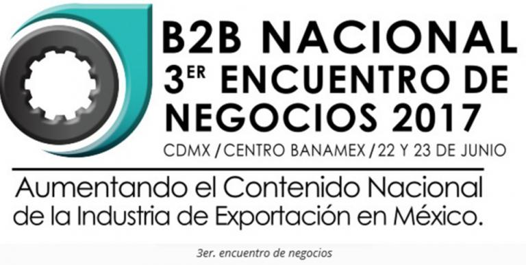 B2B NACIONAL 3er ENCUENTRO DE NEGOCIOS